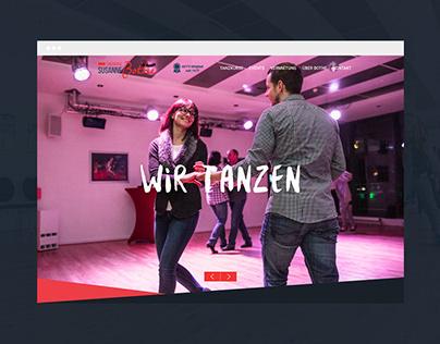 WEBSITE RELAUNCH //Tanzschule Susanne Bothe