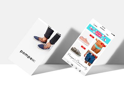 Pompeii Brand App