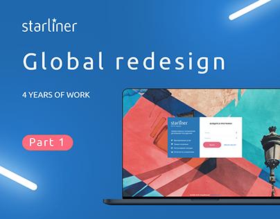 Starliner Global Redesign PART 1
