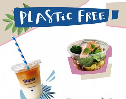 PLASTIC FREE poster