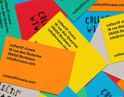 Collectif Vivace - branding