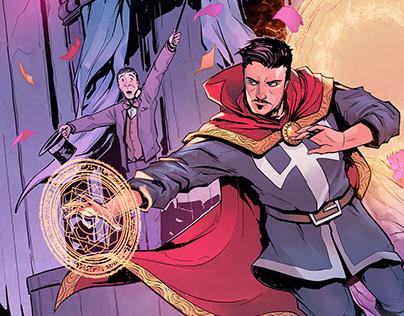 Marvel Cover Samples
