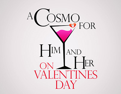 A Cosmo for Him & Her (Graphic Design)