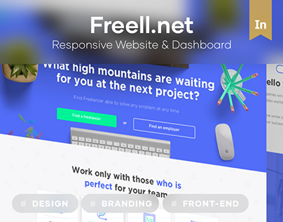 Freell — freelance website
