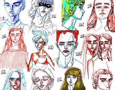 100 challenge[1] :: Portrait Art
