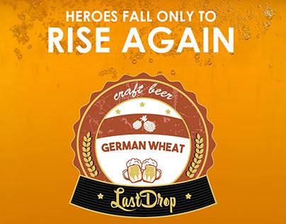 Raize the Bar Creative for German Wheat