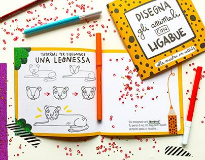 Activity Book per la mostra Antonio Ligabue a Pavia
