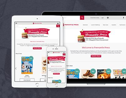 Fremantle Press Website Redesign
