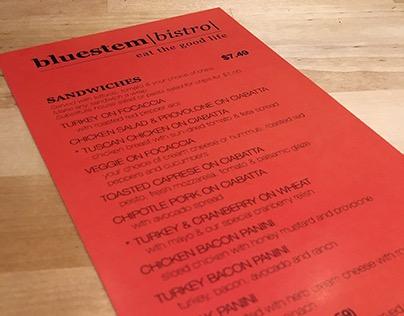 Bluestem Bistro Remodel/Rebrand
