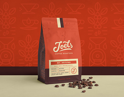 Joels Coffee Roasters Branding