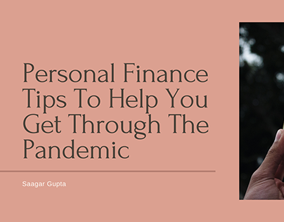 Personal Finance Tips For The Pandemic