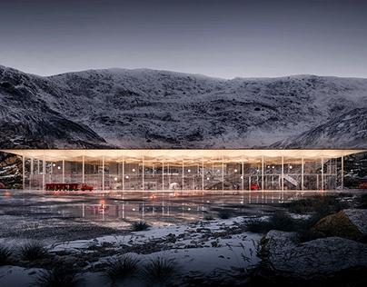 Airport - Nuuk Greenland.