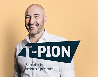 Rebranding T-Pion - Specialist in technisch personeel