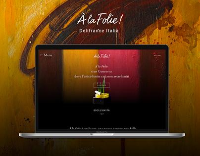 Délifrance Italia - Web Design