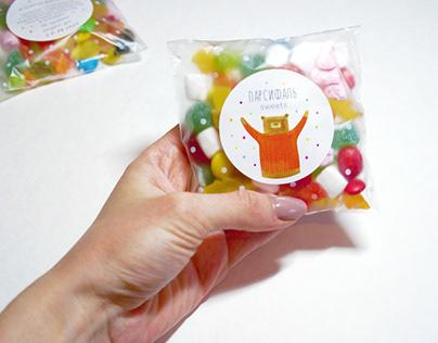 """Tea & Sweets Packaging """"Parsifal"""""""
