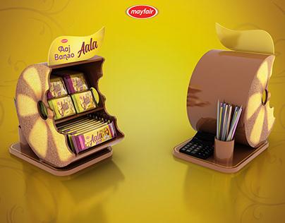 Aala Biscuit Counter top Display