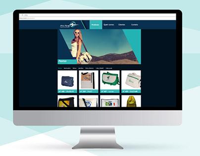 Criação de Site Art Fina