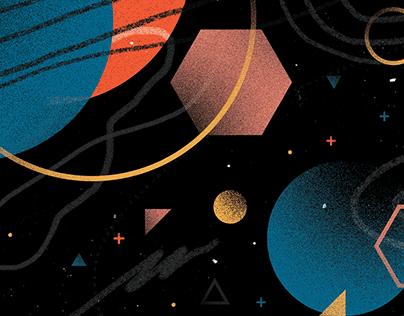 Cosmos / Pattern Design.