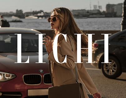 LICHI Women Clothing E-Commerce Redesign