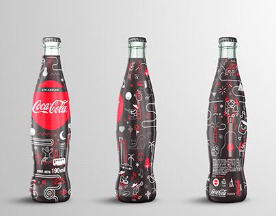 Coca-Cola - ILUSTRACIÓN ETIQUETA