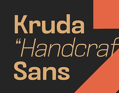 Kruda Handcrafted Sans