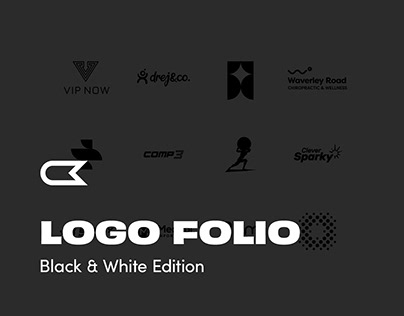Logos & Marks Collection - Black & White Edition
