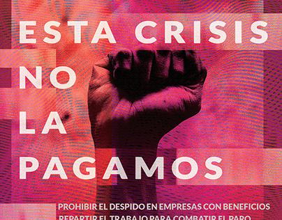 1º de mayo. Esta crisis no la pagamos