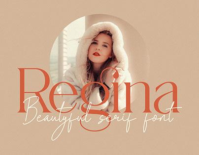 Regina_Beautyful Serif Font
