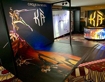 KA By Cirque du Soleil - Ticket Kiosk & Photo Opp