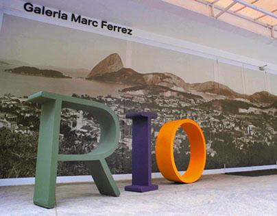 Interactive Exhibition - Rio: First Poses - SuperUber