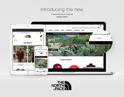 The North Face | Re-layout (ecomm)