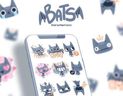 """BATS"" Stickers"