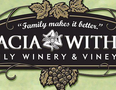 Sparacia-Witherell Family Winery label designs