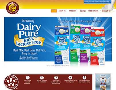 Mayfield Dairy website
