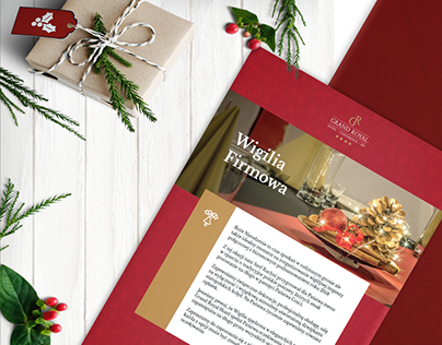 Christmas Eve Brochure for Grand Royal Hotel