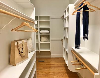 Home Staging Portfolio Closets