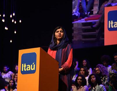 Brand Content & PR: Itaú - Malala no Brasil