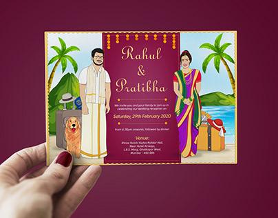 Illustrative Wedding Invite
