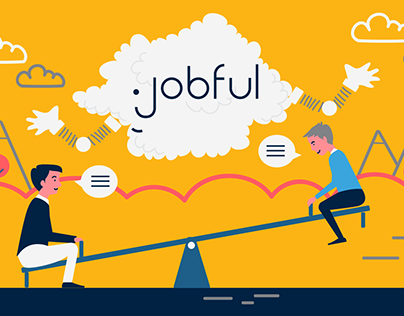 2D Animation for Jobful