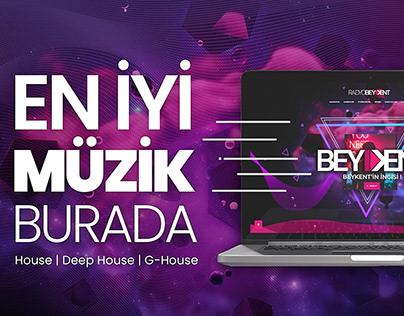 Radyo Beykent - Banner Çalışması