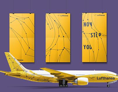 Rebranding Lufthansa - Dynamic Logo