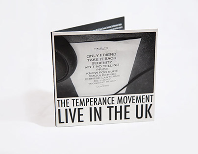 The Temperance Movement Live in the UK CD