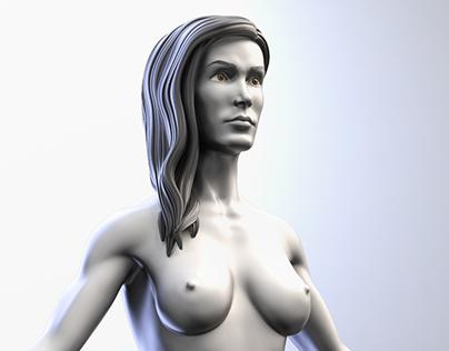 Female Anatomical Base - Mujer / Woman