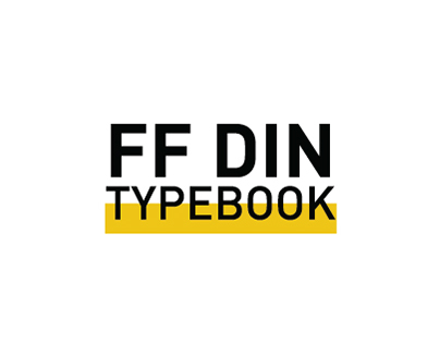 FF DIN Type Book