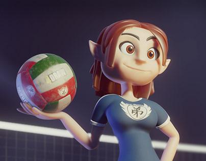 Volley elf
