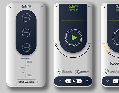 SpinFit-Heartbeat Monitor