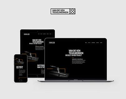 Webdesign Van de Ven Tegelwerken