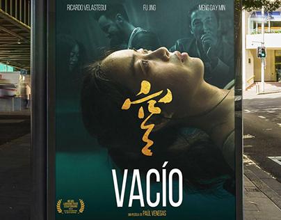 Vacío - Movie poster design