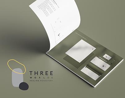Strategy & Visual identity | Three Worlds