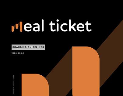 Meal Ticket Branding Guidelines